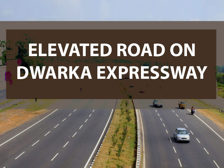 Elevated Road on Dwarka Expressway