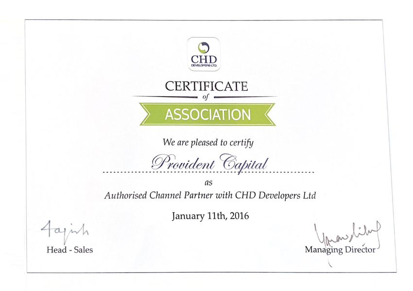 chd-developers-provident-capital-awards