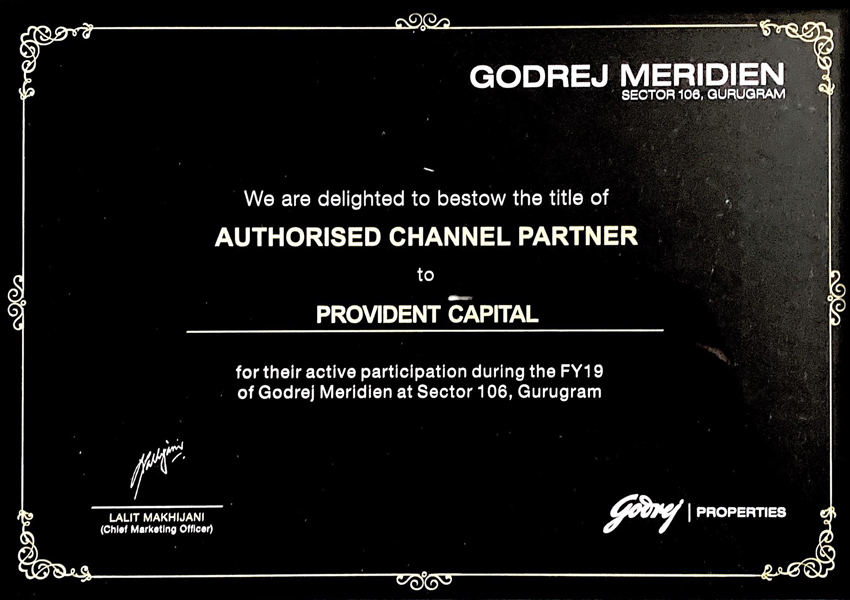 godrej-meridien-provident-capital-awards